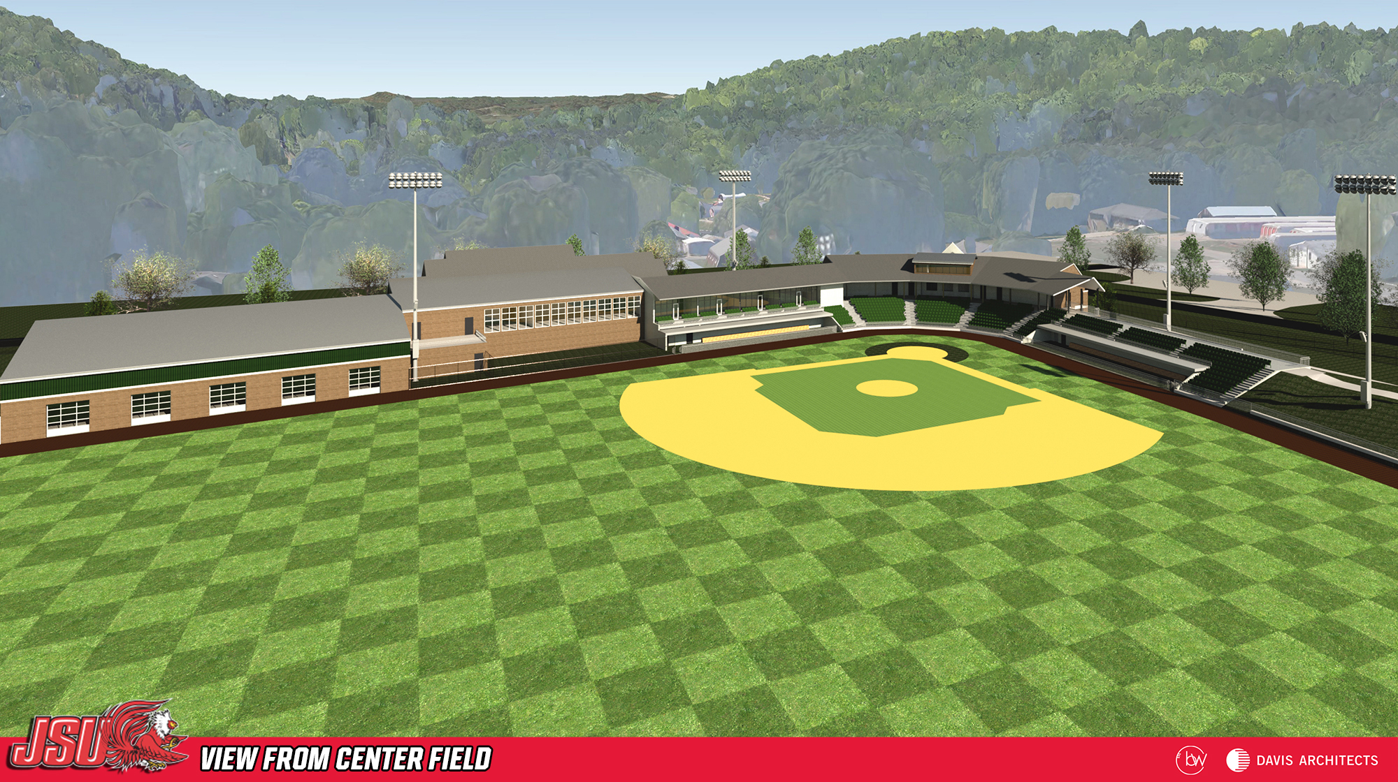 Jsu athletics jsu reveals renderings of new baseball stadium 10538 malvernweather Image collections